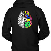 Twenty One Pilots Brains Hoodie Two Sided