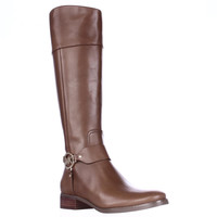 MICHAEL Michael Kors Fulton Harness Riding Boots - Luggage