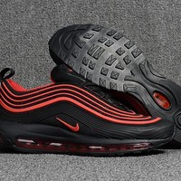 Nike Air Max 97 Black/Red Running Shoes Size 40-47