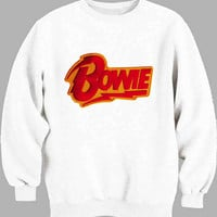 david bowie Red Sweater for Mens Sweater and Womens Sweater ***