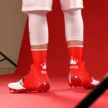 Mufasa Red Spats / Cleat Covers