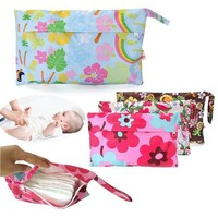 Baby Waterproof Travel Zipper Diaper Bags