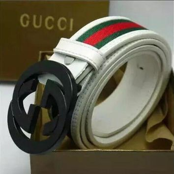 DCCKON GUCCI BELT MEN WOMEN MESSENGER BAG SHIRT B02