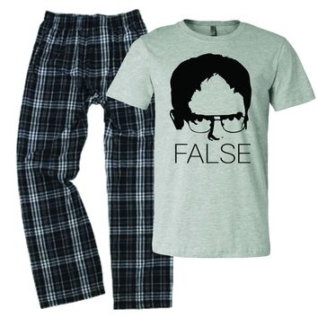 The Office False Fact Pajamas