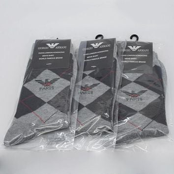 Armani Woman Men Cotton Socks