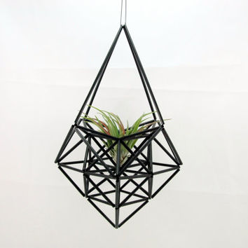 Himmeli mobile diamond ornament decoration hanging planter