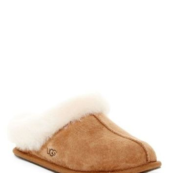 UGG Australia | Moraene Genuine Shearling Lined Water Resistant Slipper