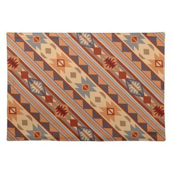 Southwestern Design Tan Cloth Placemat