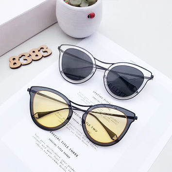 Ladies Strong Character Metal Sunglasses [11698055055]