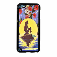 Ariel Little Mermaid Disney Flower Vintage iPod Touch 5th Generation Case