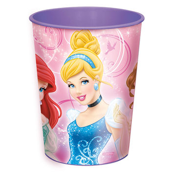 Disney Princess 16oz. Plastic Cup