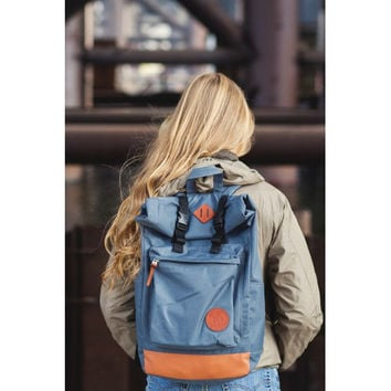 Canvas Backpack, Laptop Backpack, Roll Top Backpack, Rolltop Backpack, Vegan Backpack, Backpack Canvas, Womens Backpack, Hipster Backpack
