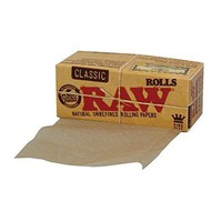 King Size Slim Roll 5 M Raw Papers