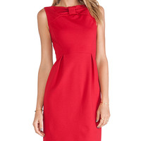 Kate Spade New York Bow Tie Sheath Dress in Red