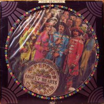 The Beatles - Sgt. Pepper's Lonely Hearts Club Band (LP, Album, Ltd, Pic)