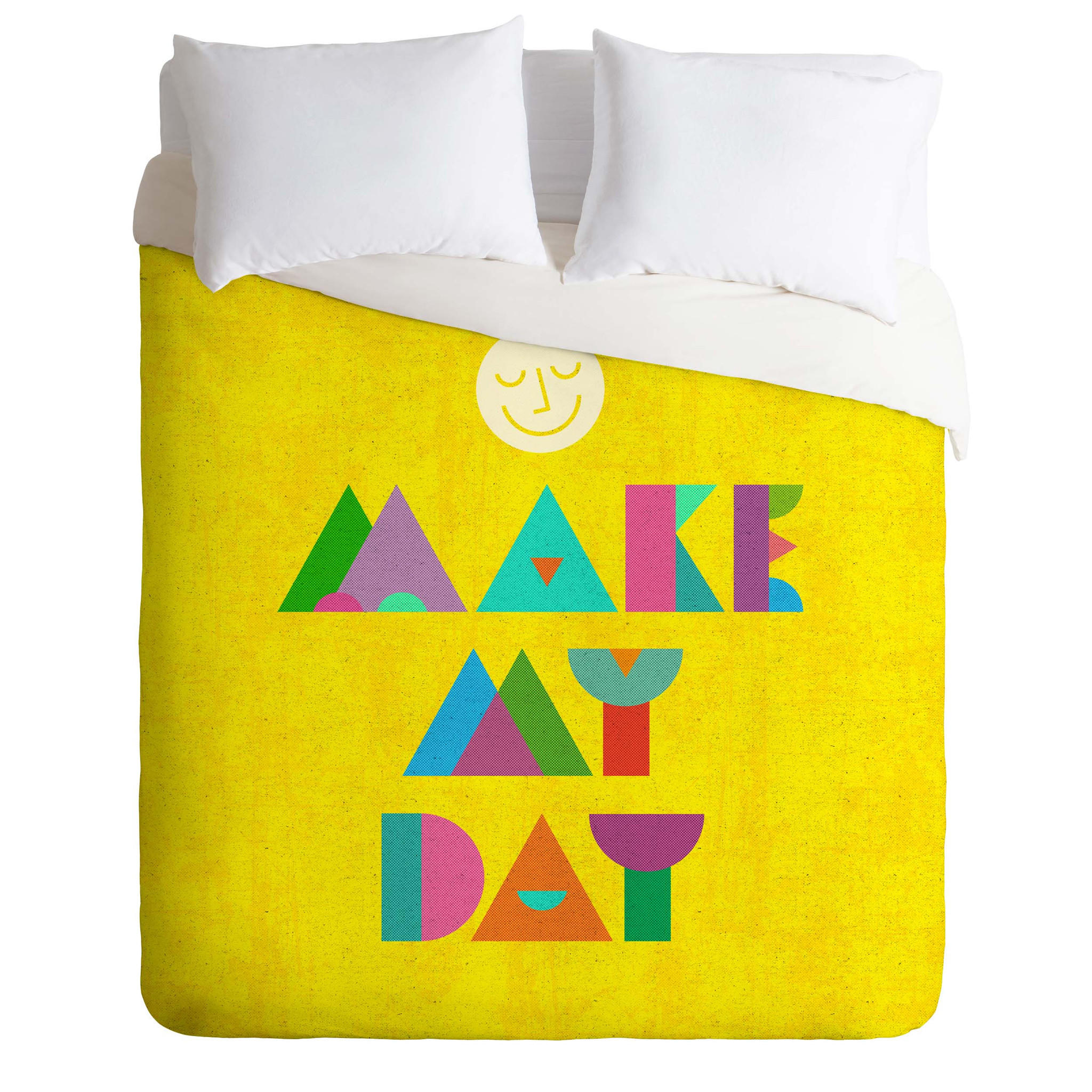 Nick Nelson Make My Day Duvet Cover