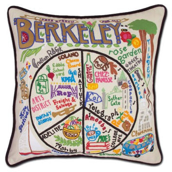 Berkeley Embroidered Pillow