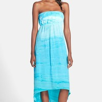 Women's Hard Tail Strapless High/Low Dress