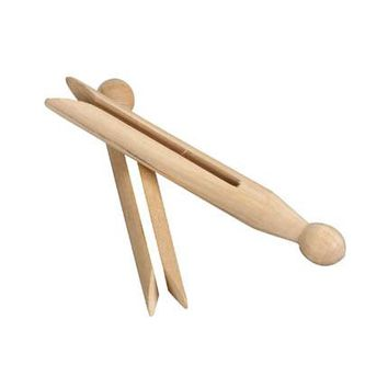 50 ct. Slotted Birchwood Clothespins