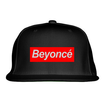 Beyonce - Supreme Embroidered Snapback Hat