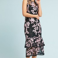 Shoshanna Dominic Tiered Midi Dress
