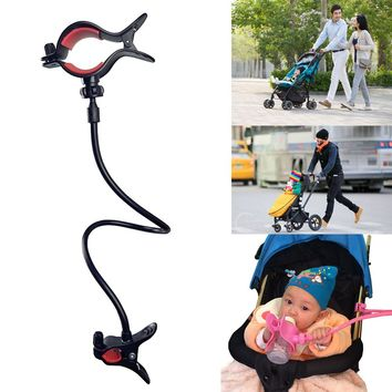 Cup Holder Cart Bottle For Milk Water Baby Bottle Holder Clip Baby Stroller Accessories Pram Buggy Organizer Hook Safe Hanger