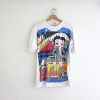 vintage oversized BETTY BOOP t shirt / size XL