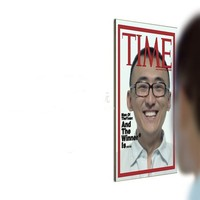 TIME ?Magazine?Cover Model Novelty Mirror