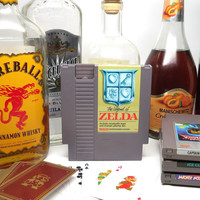 Nintendo NES Cartridge Drinking Flask - Legend of Zelda