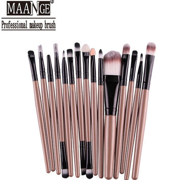 Professional 15Pcs Cosmetic Makeup Brush set
