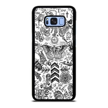 ONE DIRECTION TATTOOS Samsung Galaxy S8 Plus  Case