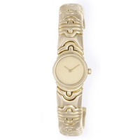 Bulgari Parentesi Ladies 18k Yellow Gold Cuff Watch