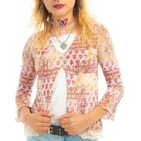 Vintage 90's Cupid Layer-Look Top - XS