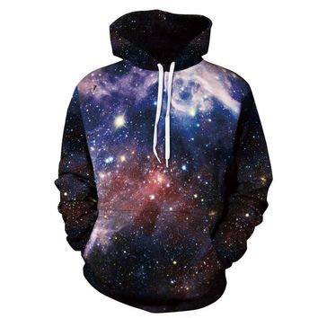 Alisister Hipster LUSH GALAXY UNISEX ALL OVER 3d PRINT HOODIE Punk Women Men Sweatshirts Hoodies Outfits Casual Sweats