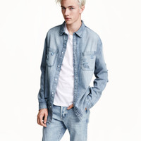 H&M Denim Shirt $34.99