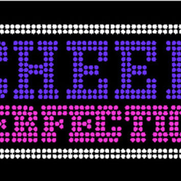 Cheer Perfection rhinestone bling shirt multiple colors available