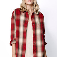 Obey Garnet Peak Flannel Button-Down Shirt at PacSun.com