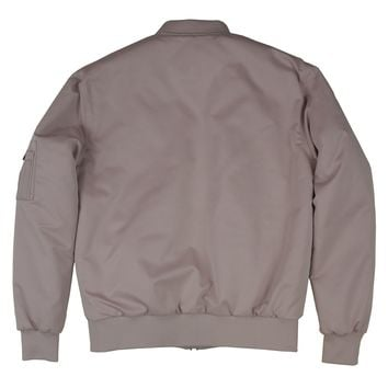 "NEW ""M+RC"" ROSE SMOKE BOMBERS JACKET"
