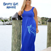 sea turtle clothing sea turtle dress stunning royal blue turtle dress