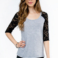 Rags to Laces Raglan T-Shirt $25