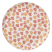 Autumn Leaves Pattern Plate