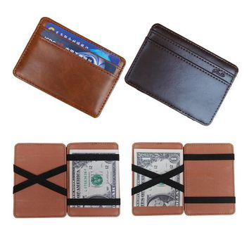 Flama Men Money Clip Wallet