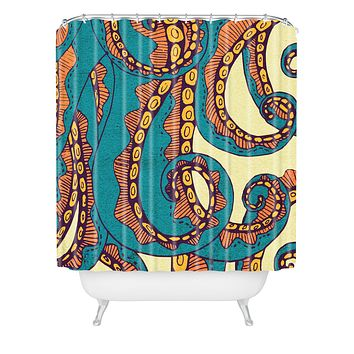 Arcturus Octopus Shower Curtain