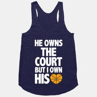 He Owns the Court (basketball light)