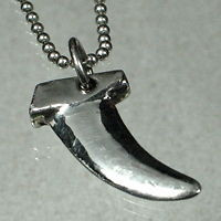 Windsurfing Necklace with Power Box fin Pendant