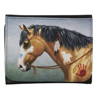 Native American War Horse Wallet