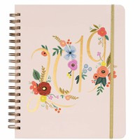 RIFLE PAPER CO. 2019 BOUQUET SPIRAL BOUND PLANNER LARGE FORMAT