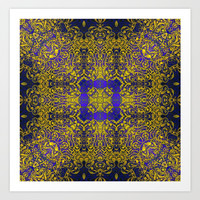 magic mandala 38 #mandala #magic #decor Art Print by jbjart