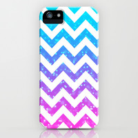 Chevron #15 iPhone & iPod Case by Ornaart