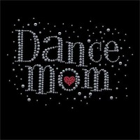 Dance Mom Rhinestone T-Shirt Adult 2X-Large